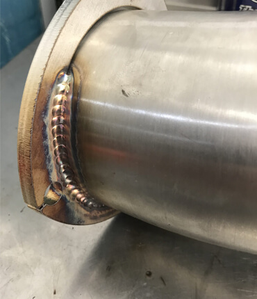 Fabrication of Exhaust Pipe